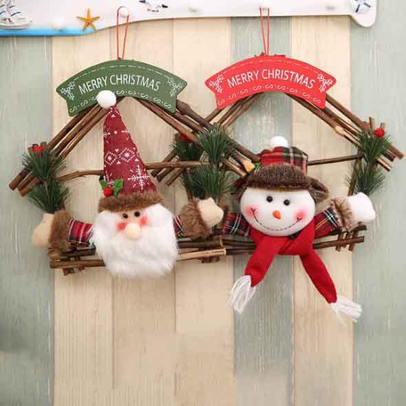 Papai Noel na decoração de natal 017