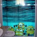 Adesivos criativos para Box de banheiro 002