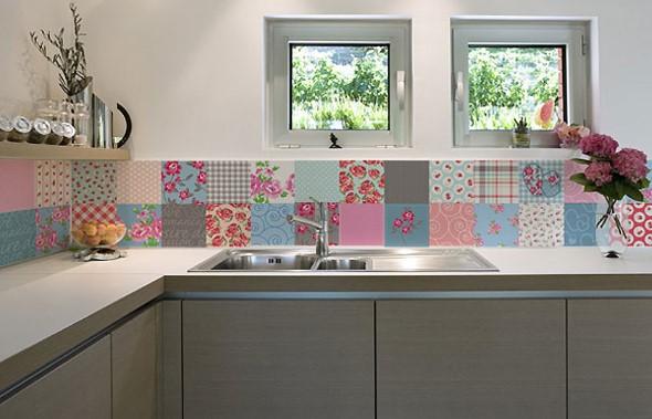 Azulejos estampados na cozinha 007