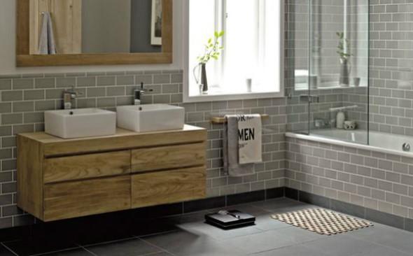 Banheiro em estilo retro 002