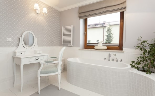 Banheiro em estilo retro 004