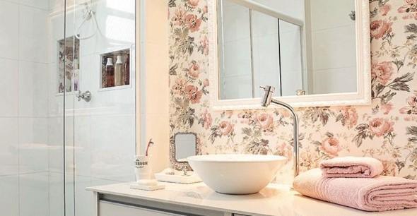 Banheiro em estilo retro 005