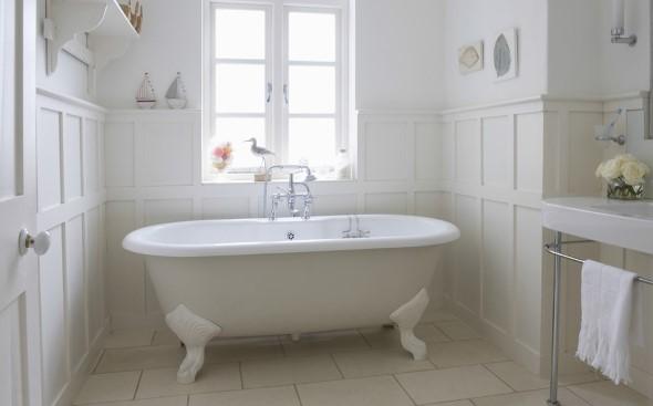 Banheiro em estilo retro 007