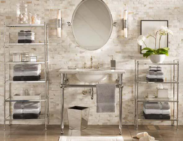 Banheiro em estilo retro 016