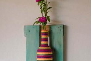 Como organizar flores com vasos artesanais 017