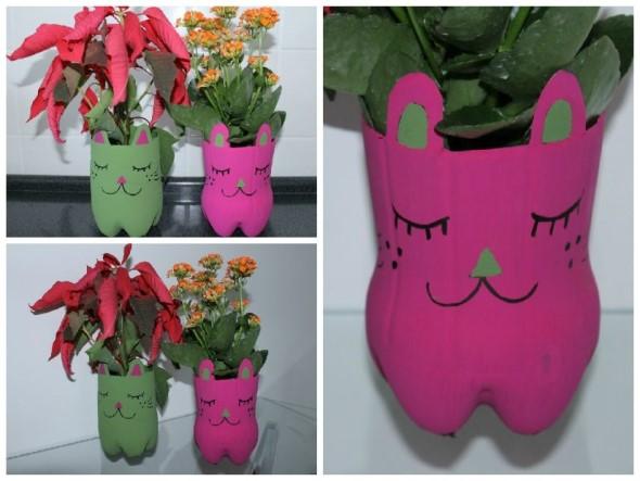 Como organizar flores com vasos artesanais 018