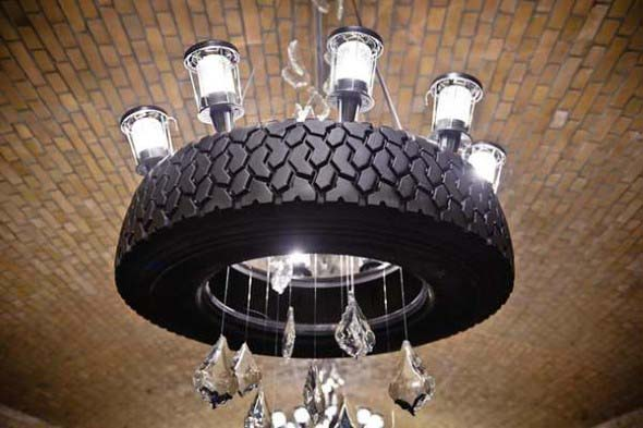 Ideias de decoração com pneus 016