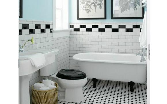 banheiro estilo retro 4