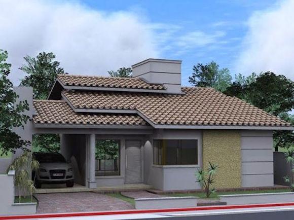 Modelos de telhados para casa for Modelo de casa de 4x6