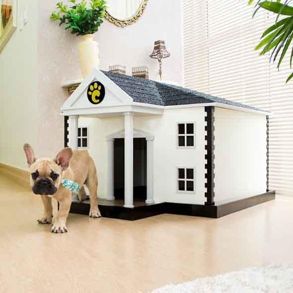 Casinhas de cachorro cheias de estilo 001