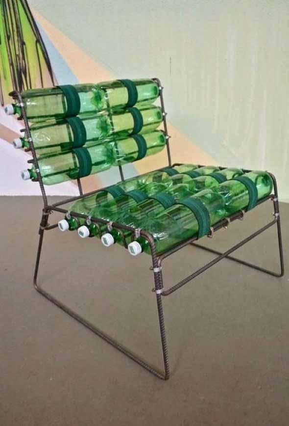 Dicas de decoração com garrafas PET 012