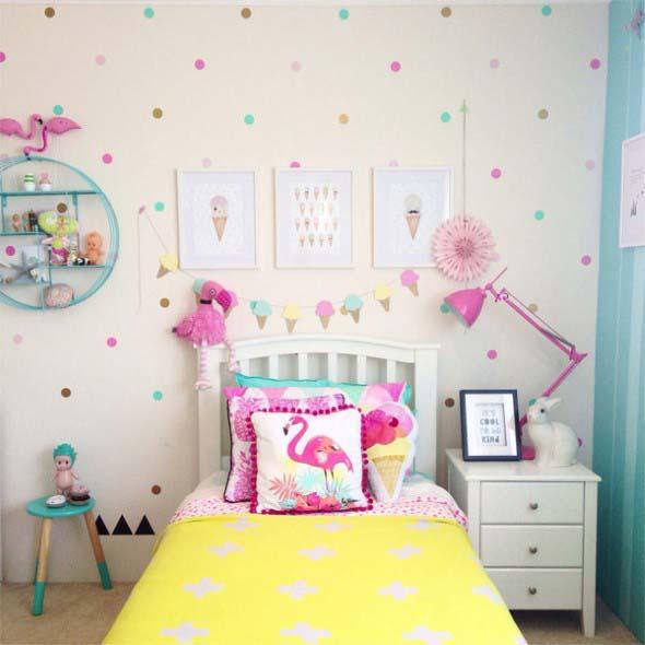 Flamingos na decoração 008