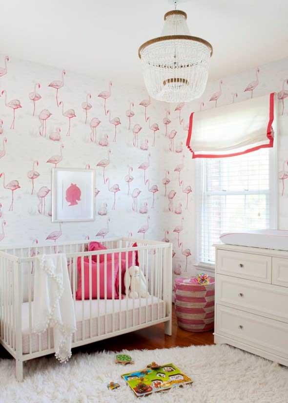 Flamingos na decoração 013