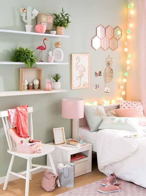 Flamingos na decoração 019