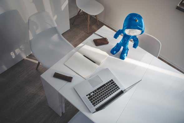 Luminárias de mesa criativas 009