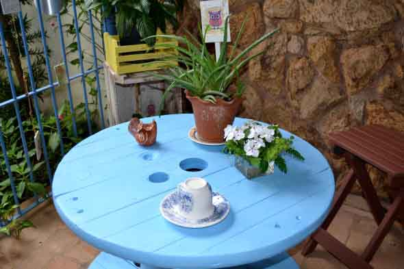 Modelos charmosos de mesas de carretéis 012