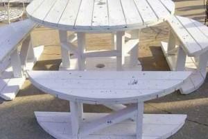 Modelos charmosos de mesas de carretéis 017