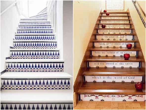 Personalizar degraus da escada 014