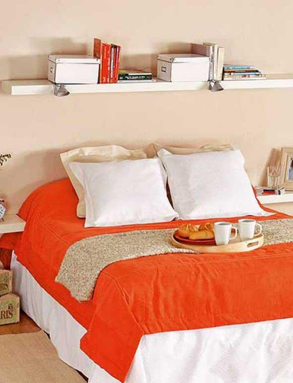 Prateleiras encima da cama 013