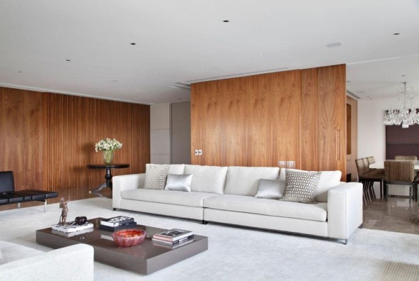 Sofá grande para sala de estar 007