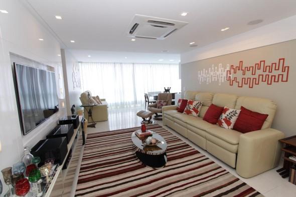 Sofá grande para sala de estar 012