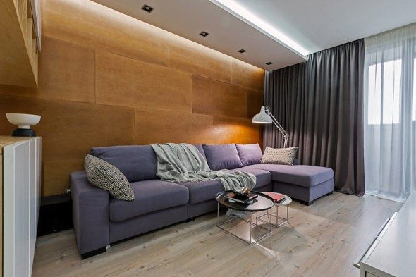 Sofá grande para sala de estar 019