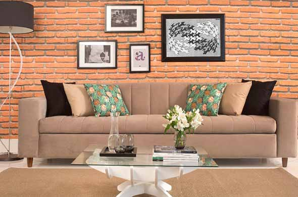 Sofá grande para sala de estar 020