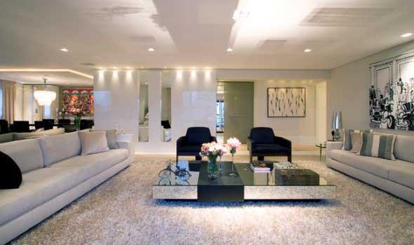 Sofá grande para sala de estar 024