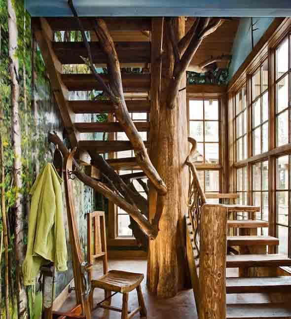 Árvore dentro de casa 011