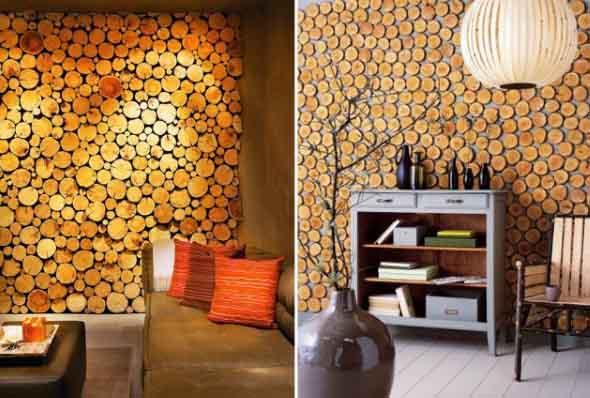 Como revestir paredes com blocos de madeira 012