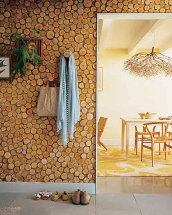Como revestir paredes com blocos de madeira 014