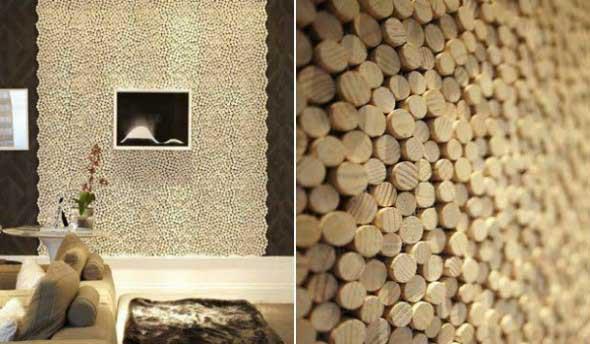 Como revestir paredes com blocos de madeira 015
