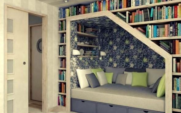 Como ter uma biblioteca em casa 001