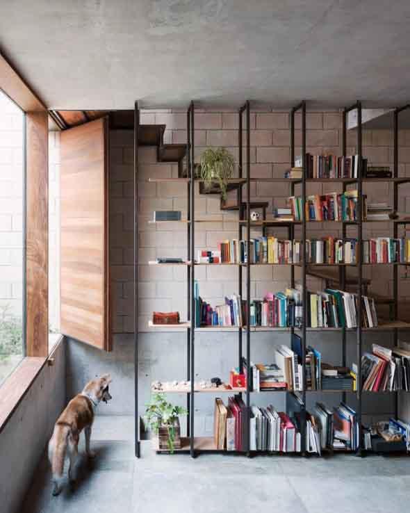 Como ter uma biblioteca em casa 005