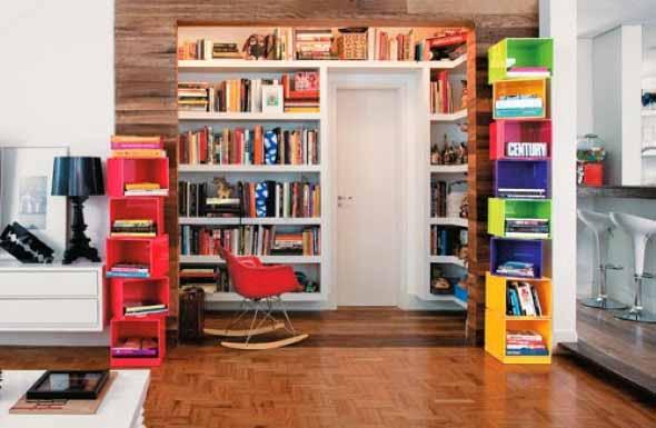 Como ter uma biblioteca em casa 014