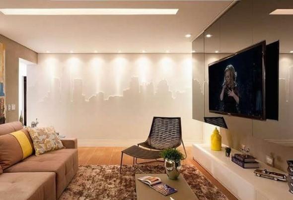 Decoração com TVs espalhadas pela casa 006