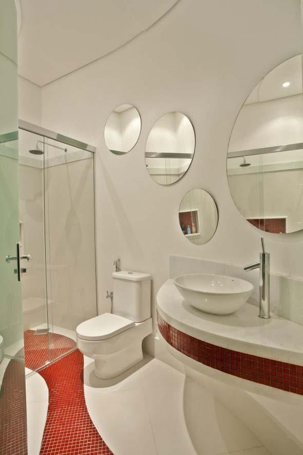 Decorar a casa com espelhos redondos 007
