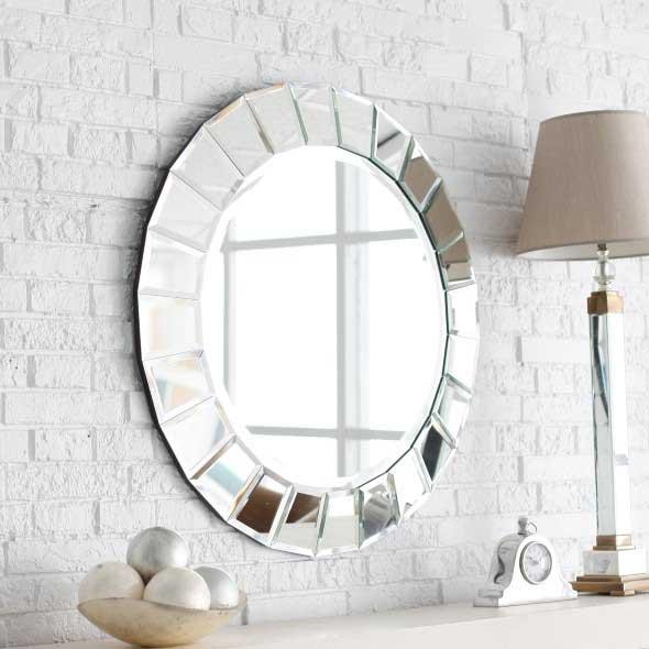 Decorar a casa com espelhos redondos 009