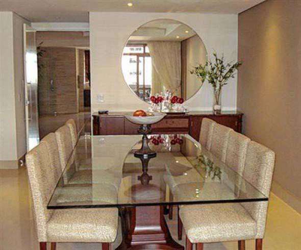 Decorar a casa com espelhos redondos 012