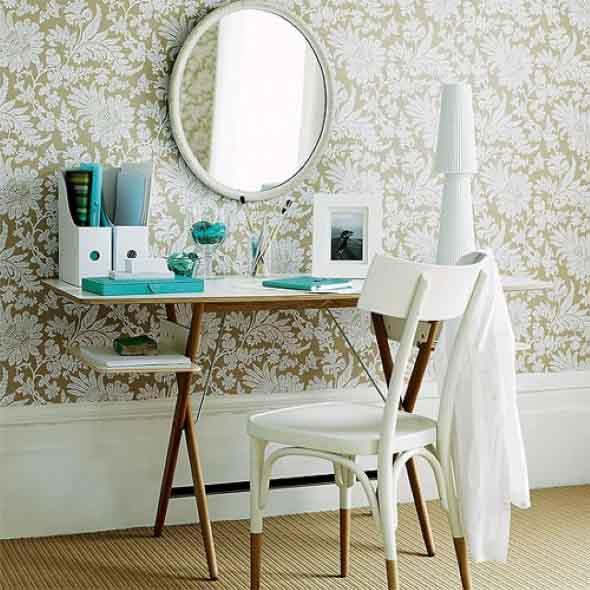 Decorar a casa com espelhos redondos 021