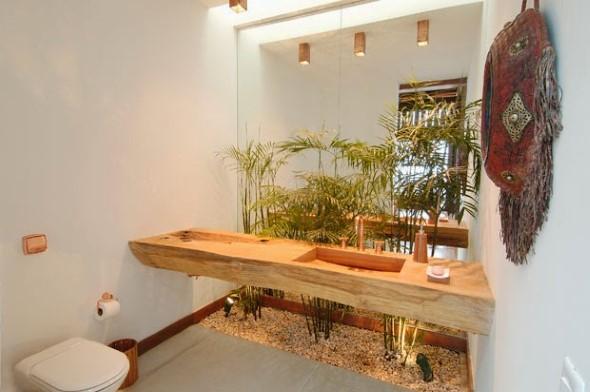 Dicas para ter plantas no banheiro 018