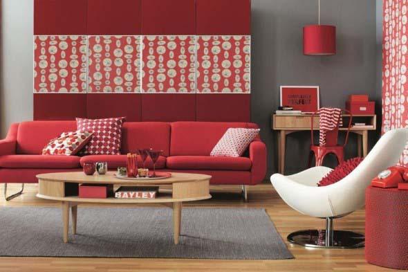 Dicas para usar vermelho na decoração 005