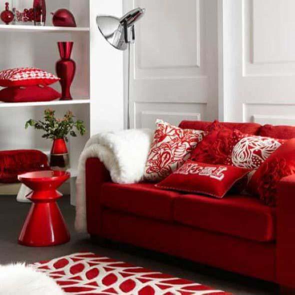 Dicas para usar vermelho na decoração 012