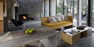 Móveis feitos de concreto em casa 017