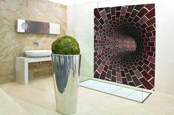 Mosaico na decoração de casa 001