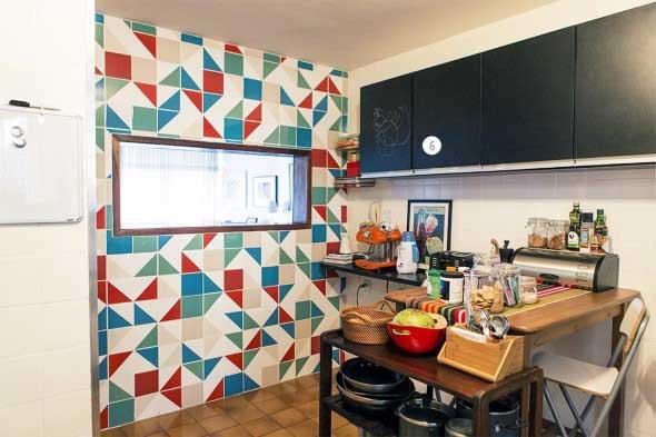 Mosaico na decoração de casa 012