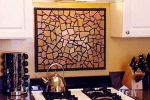 Mosaico na decoração de casa 018