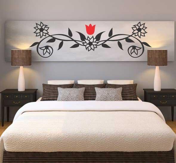 Painel para cabeceira de cama 006