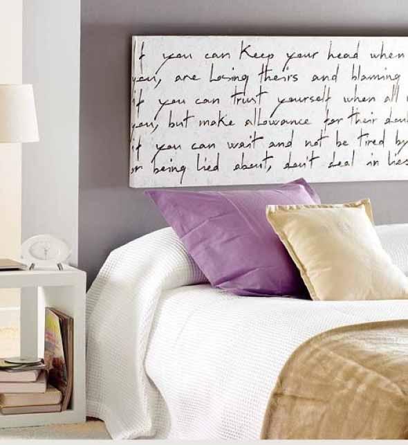Painel para cabeceira de cama 017