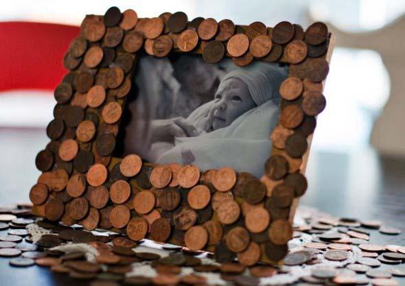 Reutilizar moedas na decoração 007